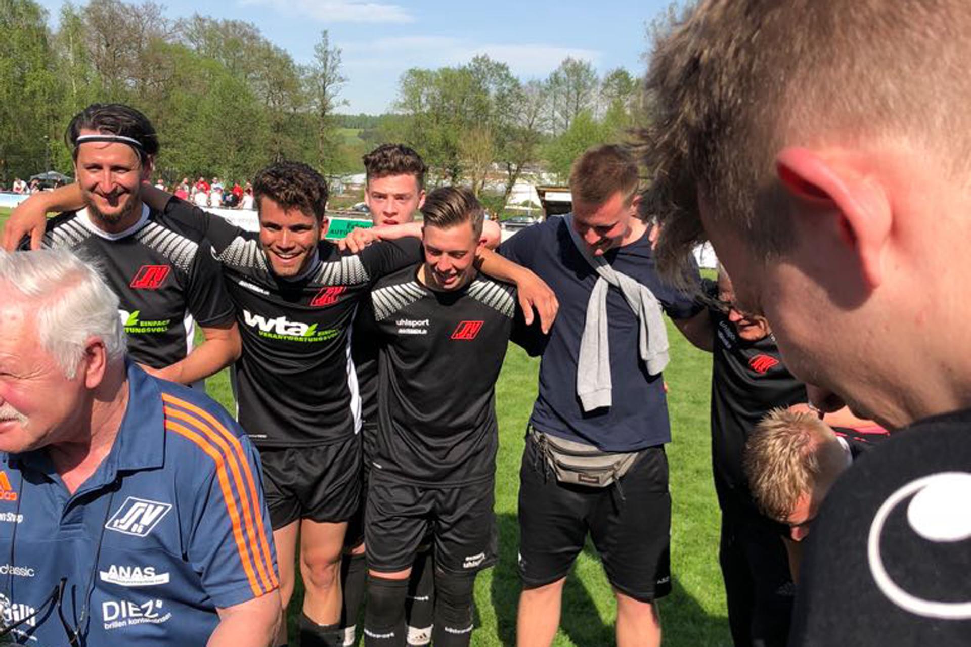 Herrenmannschaft Sieg in Viernau