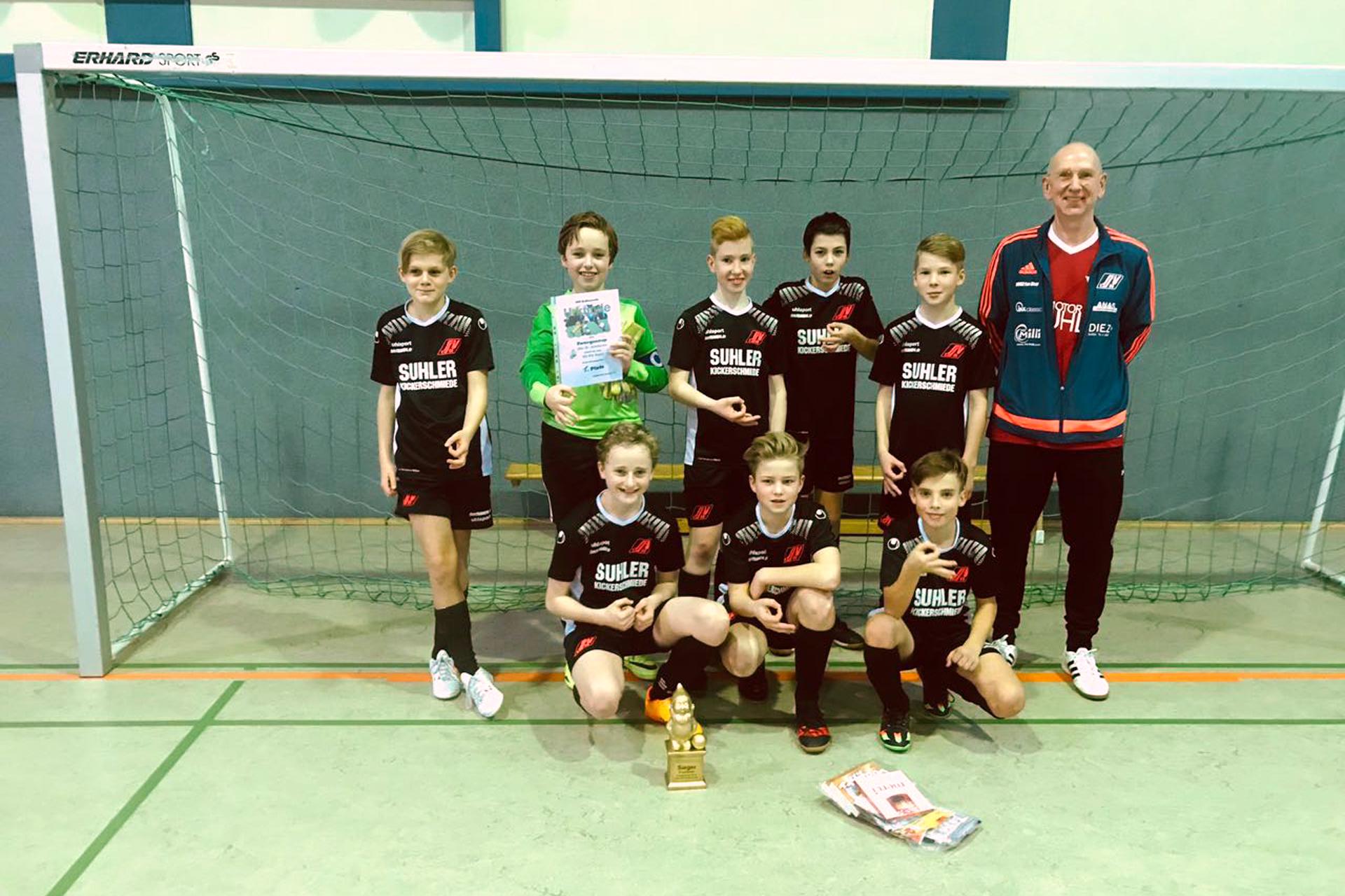 Halle Gräfenroda Teamfoto