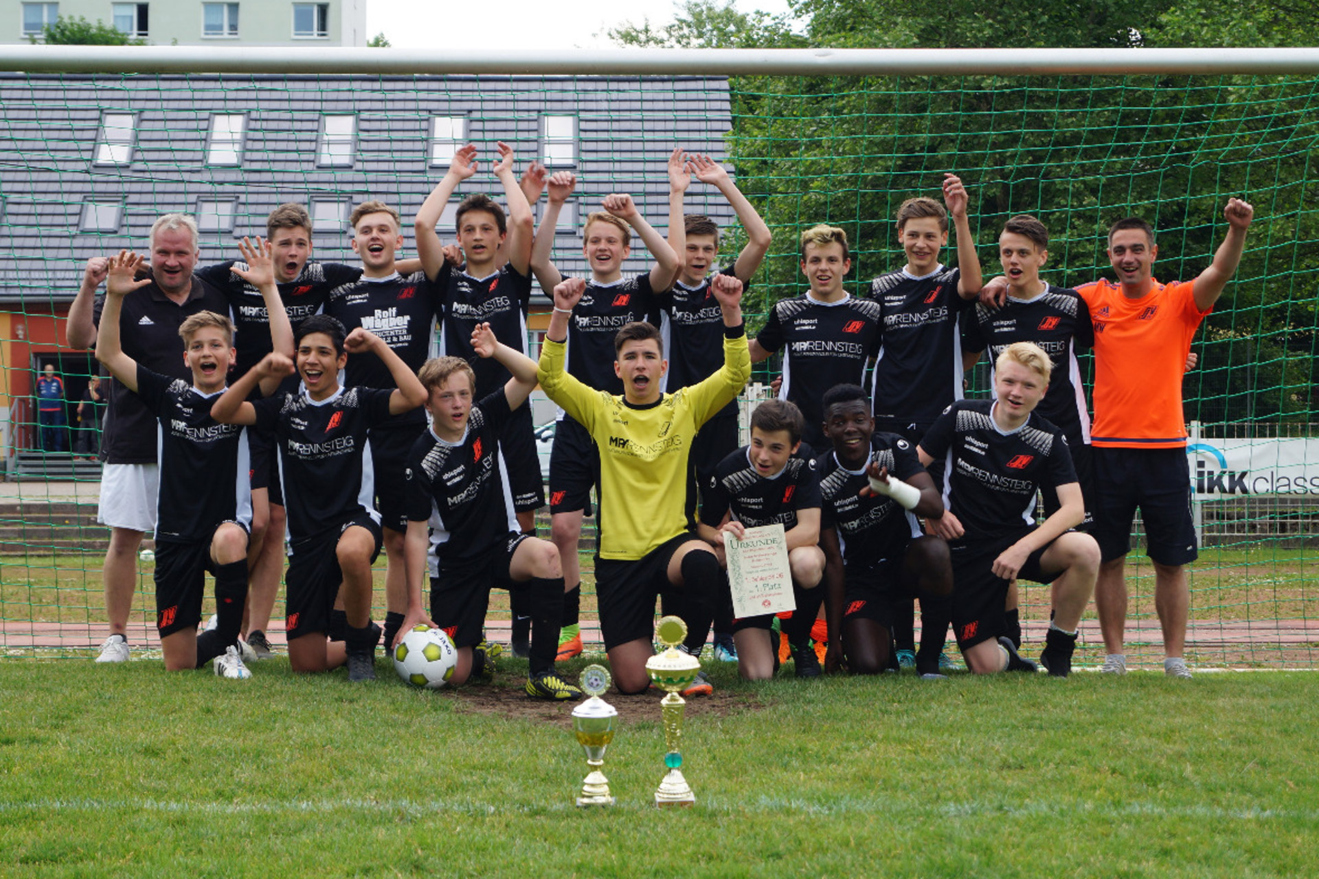 B Jugend Team Double