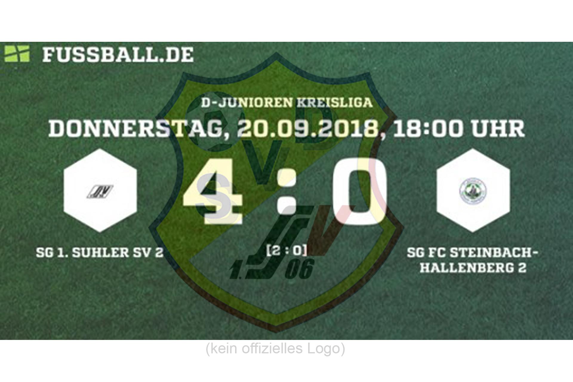 D2 Jugend Steinbach-Hallenberg Ergebnis