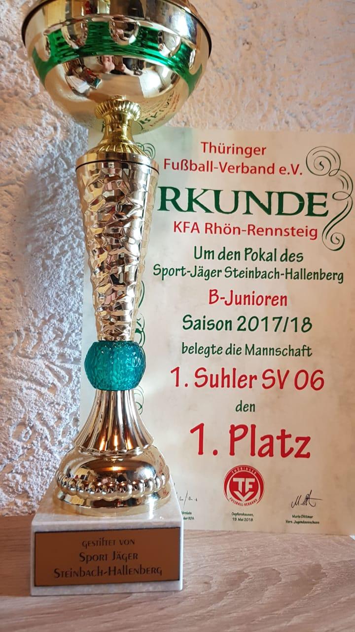 B Jugend Pokal Steinbach-Hallenberg