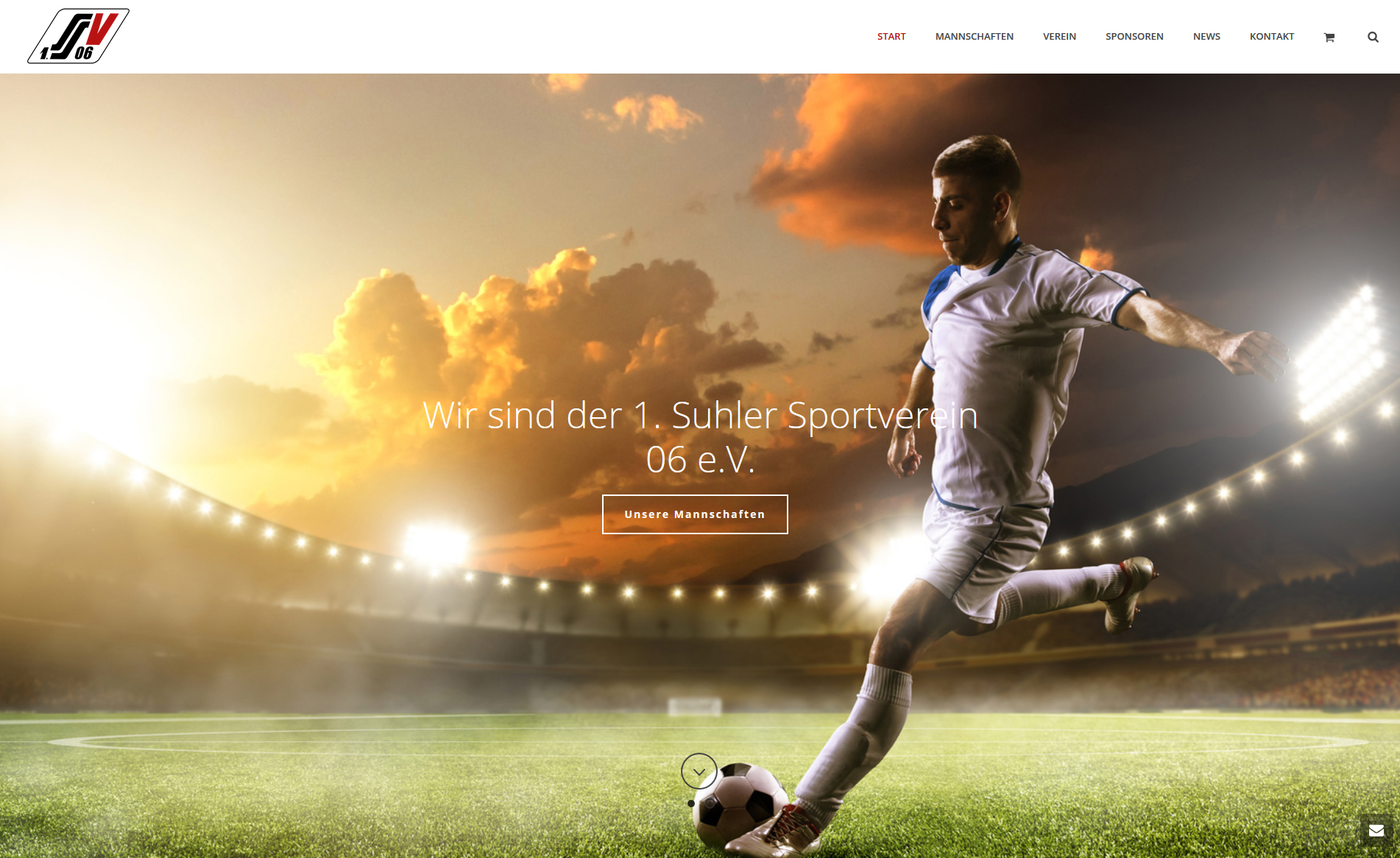 Blogbeitrag neue Website