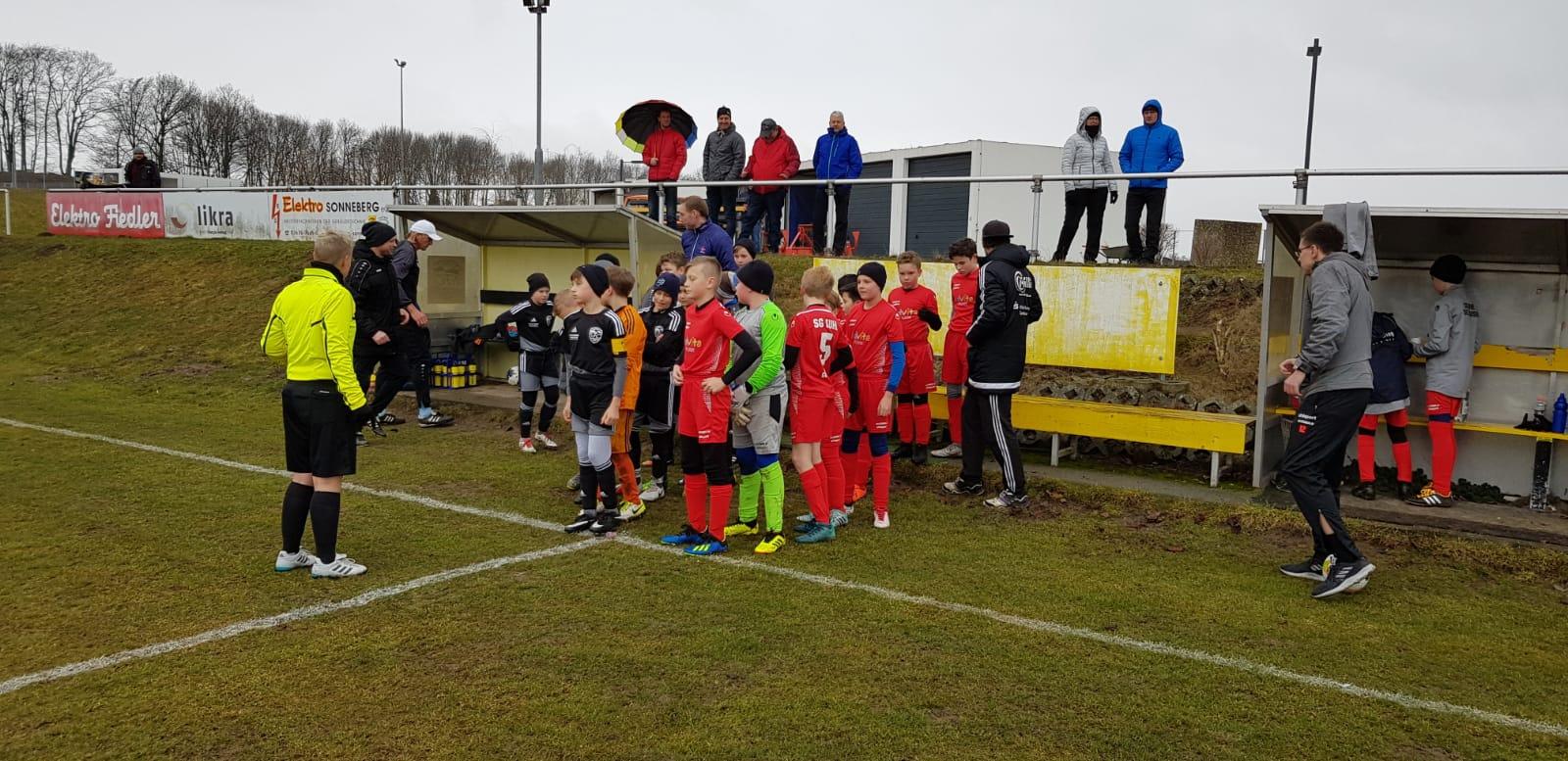 D-Junioren Auswärtsspiel Sonneberg